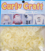 CURLY CRAFT One & Only CURLY DOLL HAIR Pack 30ml SUNSHINE YELLOW Colour