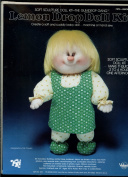 The Gumdrop Gang - Lemon Drop Doll Kit - A Creative Sculpture Doll Kit