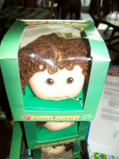 Little Doll Baby Curly Hair Brown Doll Head