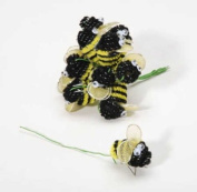 Chenille Bumble Bees - Package of 144 for Crafts, Decorating and More