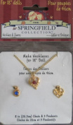 Springfield Collection Necklace & Charms for 46cm Dolls