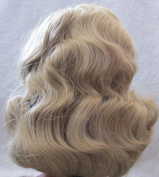 Dollspart Craft PUPPET or DOLL 'DYNEL' HAIR WIG Fits SIZE 41cm Style ALICE Colour BLONDE