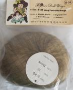 BYRON Craft DOLL HAIR WIG Style B-39 Fits SIZE 33cm Colour HONEY BLONDE