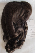 Dollspart Craft DOLL HAIR WIG Style #01036 (BRAIDS) Fits SIZE 43cm Colour LIGHT BROWN (Looks MEDIUM BROWN) Synthetic JAPAN Fibre