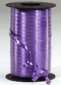 Ribbons - Curling Ribbon- 0.5cm - 500 YARDS (1500FT) - Purple - Birthday Party/Craft/Wedding Favours