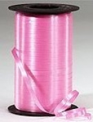Ribbons - Curling Ribbon- 0.5cm - 500 YARDS (1500FT) - Hot Pink - Birthday Party/Craft/Wedding Favours