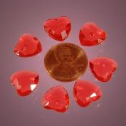 Red Heart Mini Acrylic Rocks