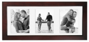MCS Solid Wood Float Frame walnut 14cm . x 33cm .