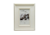 Megashopping Dimensional Rustic White Wood 10cm By 15cm Picture Frames.