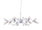 Zuo Modern 50142 Sleet Ceiling Lamp White