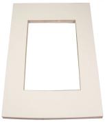 Inovart Picture-It White Pre-Cut Art/Presentation Mat Frames - Fits Artwork 28cm x 50cm
