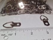 100 Heavy Duty Single Hole D Ring / Triangle Strap Hanger w/ Screws