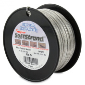 SuperSoftstrand 500-Feet Picture Wire Vinyl Coated Stranded Stainless Steel
