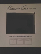 Kenneth Cole New York Black Leather Passcase Wallet