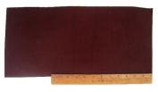 """Scrap Lace Leather Brown Cowhide 46cm X 7+"""" Piece #L401"""
