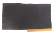 A-1 Upholstery Leather Piece Cowhide Black Light Weight 30cm x 60cm 2 SF