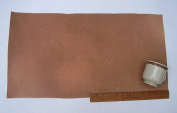 Leather Side Piece Veg Tan Split Medium Weight 30cm X 60cm 2 Square Feet