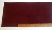 Scrap Lace Leather Dark Brown Cowhide 25cm X 46cm Piece #L301