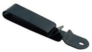 Tandy Leather Spring Belt Clip Black Plate 1239-24
