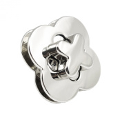 Springfield Leather Company Nickel Plated High Polish Turn Lock Clasp