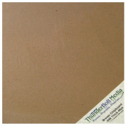 100 Sheets Chipboard 46pt (point) 18cm X 18cm Heavy Weight Scrapbook Square Size .046 Calliper Thick Cardboard Craft|Packing Brown Kraft Paper Board