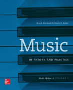 Music in Theory and Practice, Volume 1 [With Workbook]