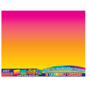 ArtSkills Rainbow Poster Board, 2-Pack Poly Bag