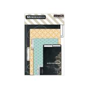 Memorabilia Tabbed Cardstock File Folders 4/Pkg-10cm x 15cm To 15cm x 23cm Folded