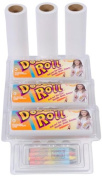 7.6cm X 15cm Doodle Roll and 7.6cm X 15cm Replacement Rolls