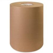 Aviditi KP1250 100 Percent Recycled Fibre Paper Roll, 720' Length x 30cm Width, Kraft