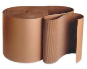 Aviditi SF36 A Flute Single Face Corrugated Roll, 250' Length x 90cm Width, Kraft