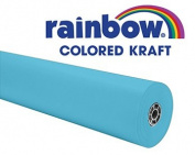 New-Pacon 63150 - Rainbow Duo-Finish Coloured Kraft Paper, 35 lbs., 36 x 1000 ft, Sky Blue - PAC63150