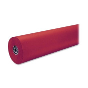Pacon Spectra Artkraft DuoFinish Paper Roll , Red