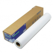 Epson Doubleweight Matte Paper, 60cm x 82 ft, White