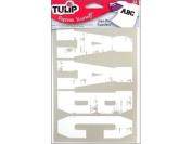 Tulip Iron On Transfer Spirit Letters Multi Pk Wht