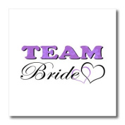 Janna Salak Designs Wedding - Wedding Party - Team Bride - Purple - Iron on Heat Transfers