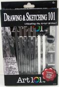 Drawing and Sketching Art 101 Kit