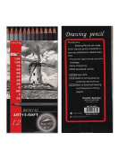 Pacific Arc Graphite Drawing Pencil Sets soft set of 12
