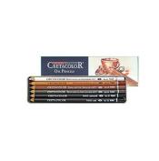 Cretacolor Oil Pencils- Set of 6 in a Reusable Tin