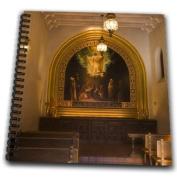 Danita Delimont - Churches - Sedona, Tlaquepaque Arts and Crafts Village church - US03 BJA0065 - Jaynes Gallery - Drawing Book