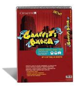 Crescent Graffiti Paper 18X24 Pad
