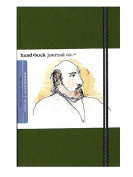 Hand Book Journal Co. Travelogue Drawing Journals 14cm . x 21cm . landscape cadmium green [PACK OF 2 ]