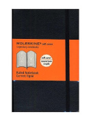 Moleskine Classic Soft Cover Notebooks ruled 8.9cm . x 14cm . 192 pages [PACK OF 3 ]