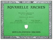 Arches Aquarelle Watercolour Block 140 lb. cold press 46cm . x 60cm .