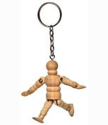 Arty Micro Manikin Keychain