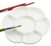 World Pride 7-Well Paint Tray Plastic Palette, 15cm