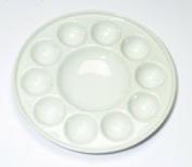 11 Well Porcelain Circular Palette