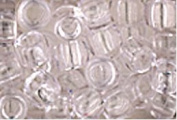 CRYSTAL CLEAR CROW BEADS PONY BEADS