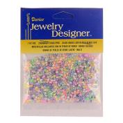 10/0 Seed Beads, Inside Colour Lustre, Multi, 20 Gramme Pkg