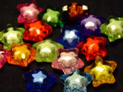 Little Star Beads - assorted lot of 10